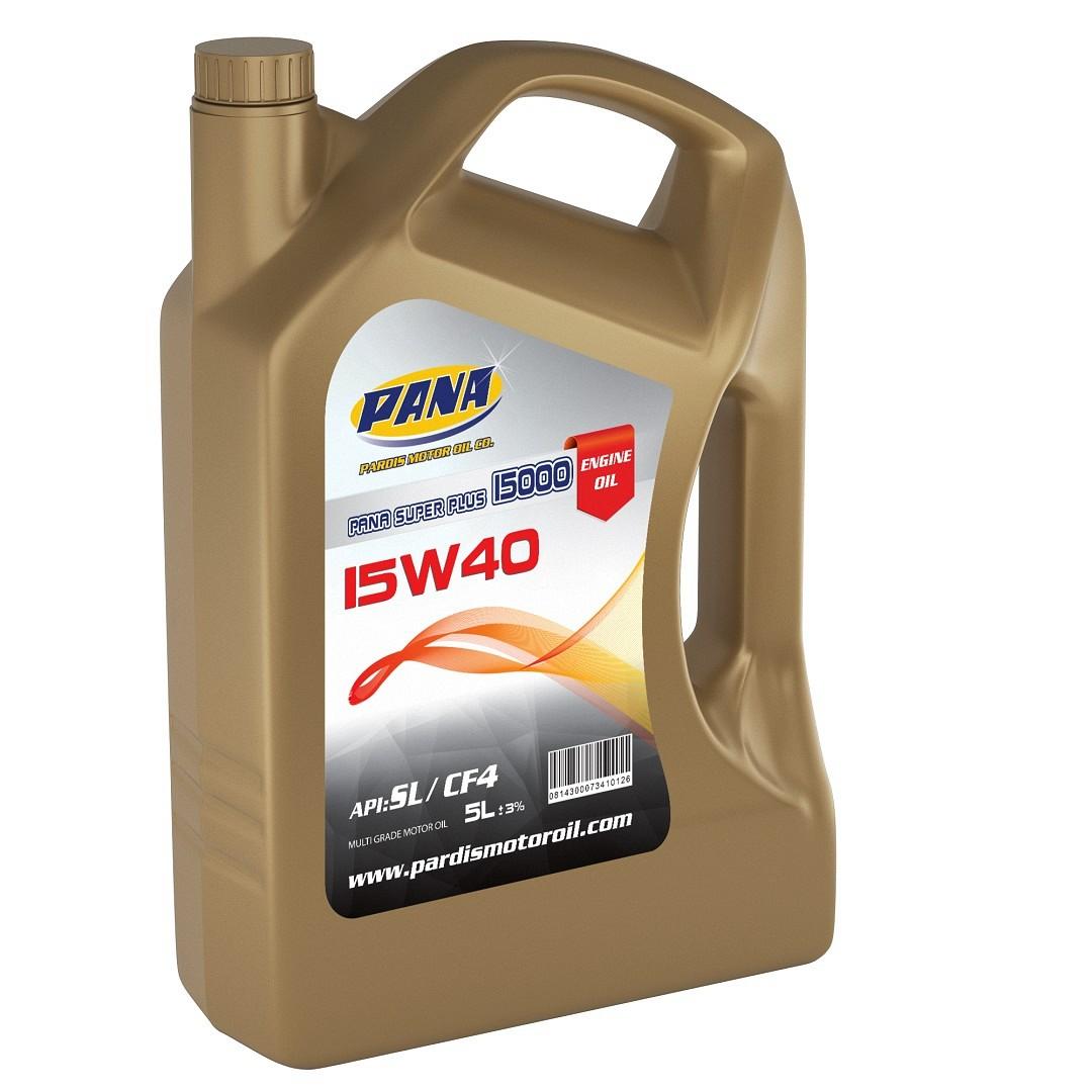 MOTOR OIL  15W40 SL/CF4