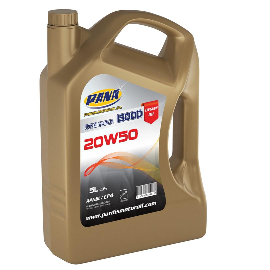 MOTOR OIL  20W50 SL/CF4